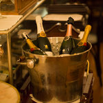 champagne trolley