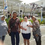 Handling guest from Jakarta at Discovery Shoping Mall