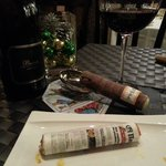 These are edible tapas..not a cigar and paper!