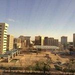 The empty Plaza