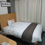 少し大きめのベッドで快適でした