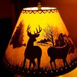 Sorry to go on about another lampshade, but it is worth a picture!