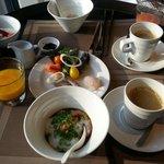 38階での朝食