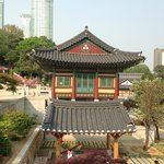 Gorgeous temple in Gangnam!