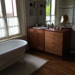 Barcarolle Bathroom - beautiful bath and a separate shower