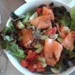 salmon salad..