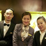 The amazing staffs of Fairmont Gold members that made my stay memorable