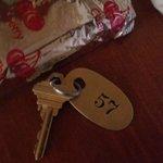 Real metal keys