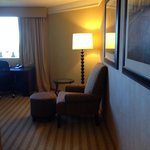 View as you enter room 1621. Bath and closet on left.