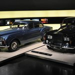 Some high end old Rolls Royce cars