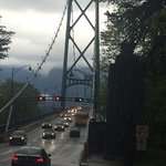 Worth riding across Lion Gate Bridge and back