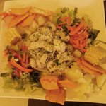 Ceviche platter - a little cilantro would have given this dish a nice boost.