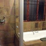 Suite 713 bathroom.