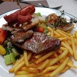 Carnes con verduras