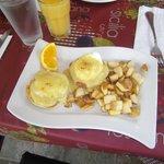 Eggs Benedict @ Spada