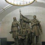 A Soviet Era Statue