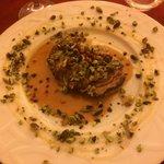 Filet de veau sauce avec du gorgonzola