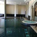 Superbe piscine et jacuzzi