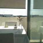 Desayuno en la terraza!!!!!