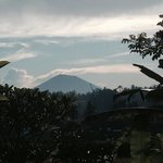 view of the mountain from the villa