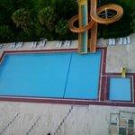 Lekker groot zwembad
