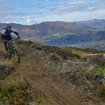 Riding high at Coronet Peak