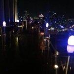 Roof top terrace bar