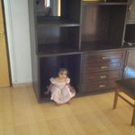 She loved the cabinet