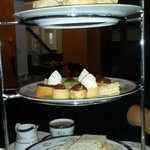 High tea for three people