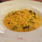 Very tasty salmon risotto