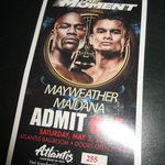 Great Viewing Party at Atlantis Casino, Reno for Mayweather-Maidana Fight May 2014 (Mayweather w