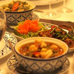 Classic interpretation and presentation of Thai dishes