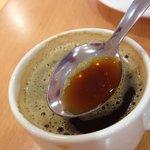 El café no es café... es agua sucia... esto se supone que son dos espressos