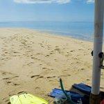Sandbank picnic
