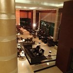 Lobby from the mezzanine floor
