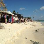 petit magasin sur la plage