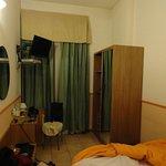 Nice room (made untidy by us ha ha!)...