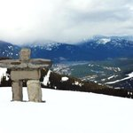 Top of Whistler Montain