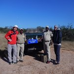 Enjoying Coffee and Tea after a morning Game Drive