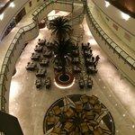 Horizon Restaurant from the 3rd floor.