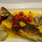 sea bass with orange sauce - a must try 2