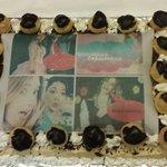 Foto torta fatta da loro x la mia Cresima !