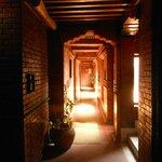 Le couloir du second étage