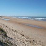 Strand vor der spanischen Invasion