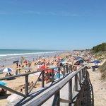 Strand feiertags