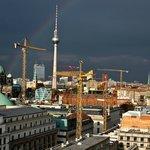 Vue de Berlin depuis le Sofitel Gendarmenmarkt.