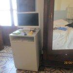 fridge in room