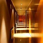 Detalle de los pasillos