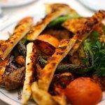 kebab - OK.. tough meat!