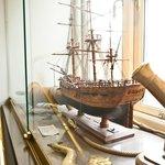 Model of James Cook's Endevour built around 1840